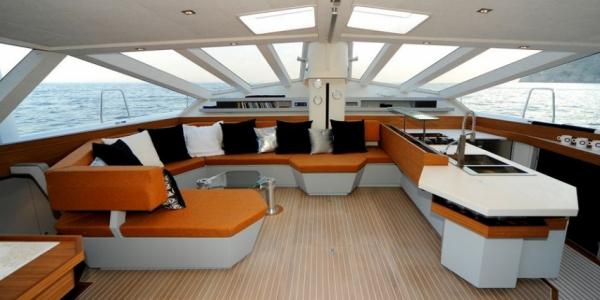 Catamarano Diamante 555